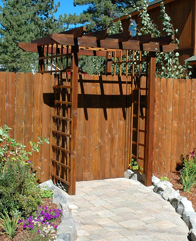 Landscaping Photo Gallery Gates